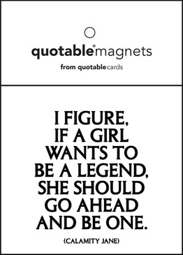 if a girl wants to be a legend magnet