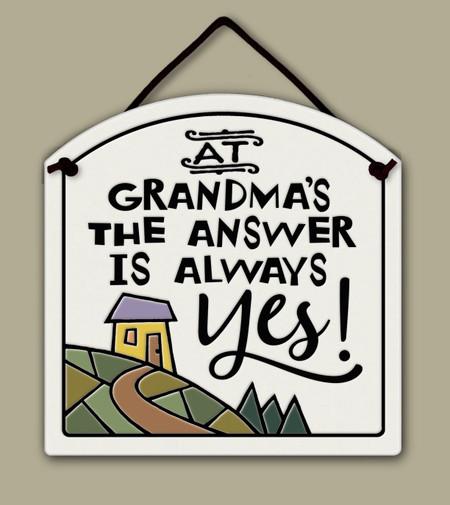 at grandma's sign