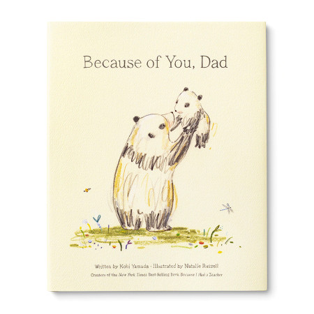 because of you dad, front cover