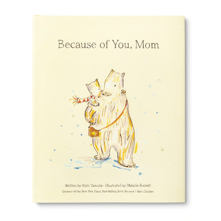 because of you mom, front cover