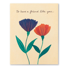 to have a friend like you , friendship, greeting card