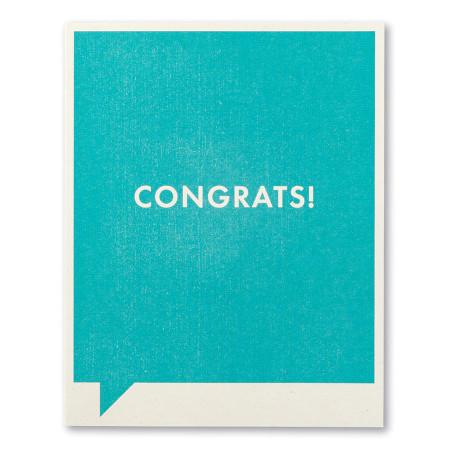 congrats, congratulations, greeting card