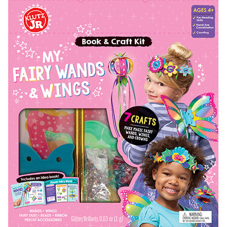 my fairy wands and wings, craft set