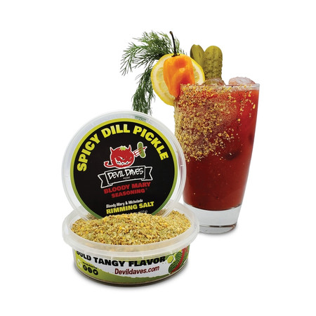 spicy dill pickle bloody mary rimmer