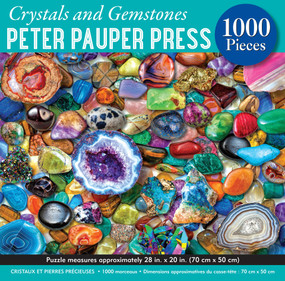 crystals and gemstones jigsaw puzzle