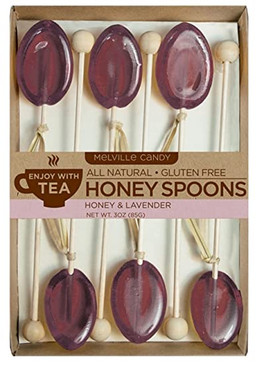kosher lavender honey spoons