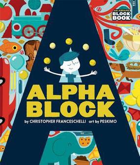 alphablock, children's book