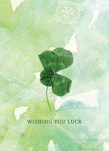 wishing you luck good luck