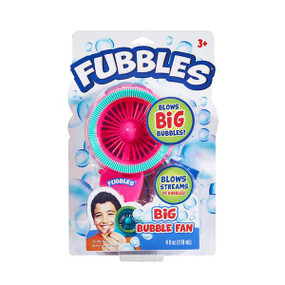 fubbles big bubble fan,  pink