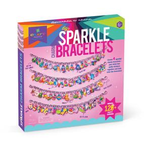 diy sparkle charm bracelets