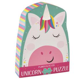 rainbow unicorn 12 piece jigsaw puzzle