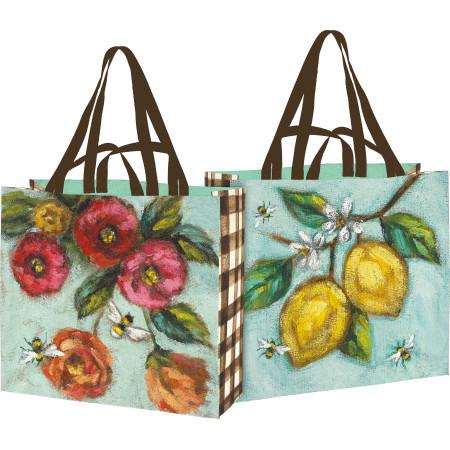 garden shopping tote
