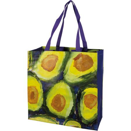 avocado market tote