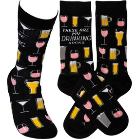 these are my drinking socks mens socks