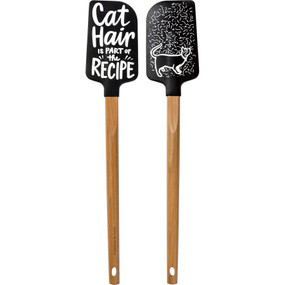 cat hair spatula