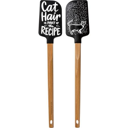 cat hair spatula