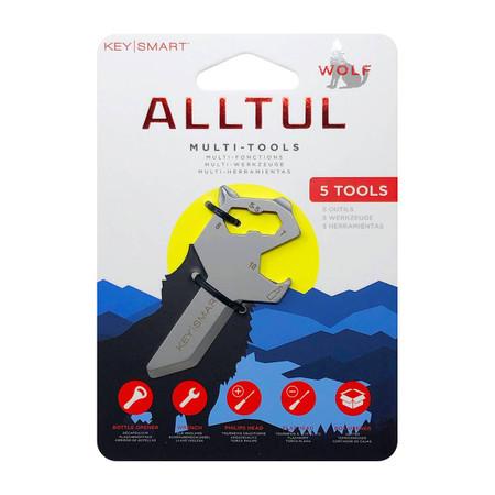 alltul wolf keychain multi-tool