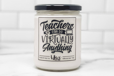 teachers can do anything - lux linen