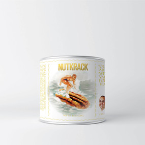 nutkrack can 8 oz.  candied pecan