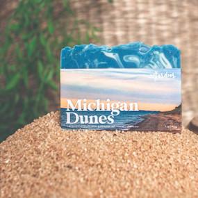michigan dunes spring soap