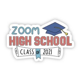 zoom university class of 2021 sticker