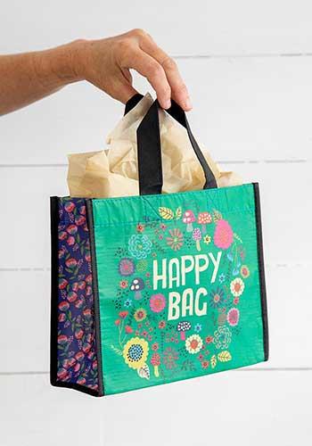 green mushroom medium happy bag