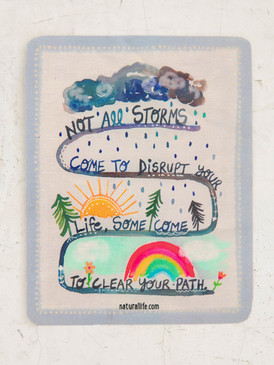 not all storms sticker
