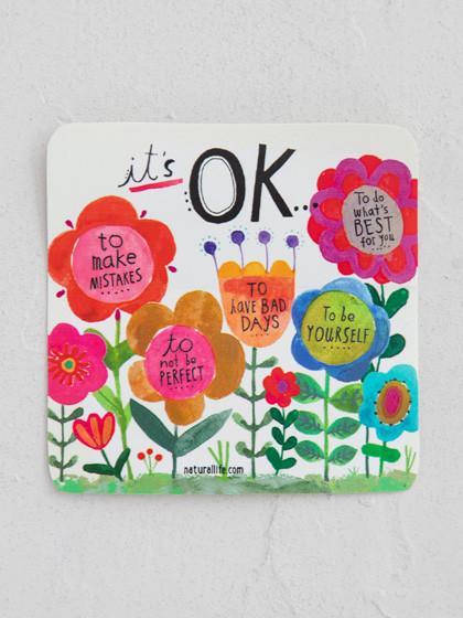 It's ok garden sticker