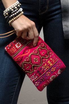 calla pattern clutch