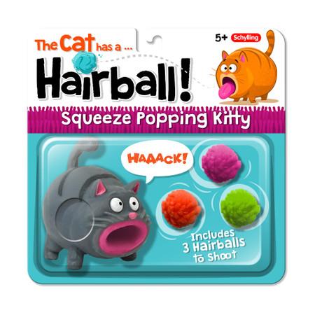 hairball popping kitty