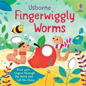 fingerwiggly worms, children's book