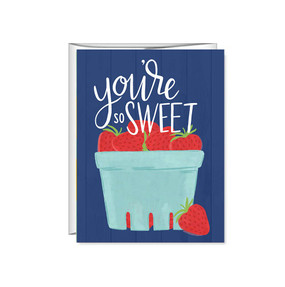 you're so sweet friendship greeting card