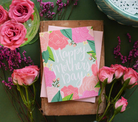 pink peonies | mother's day