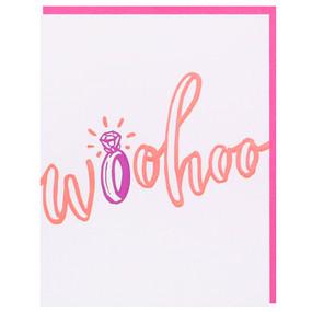 woohoo engagement greeting card