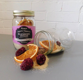 spirit sipper infusion jar - blackberry stinger
