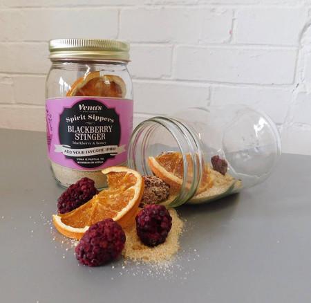 spirit sipper infusion jar - blackberry stinger