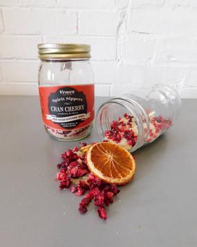 spirit sipper infusion jar - cran cherry