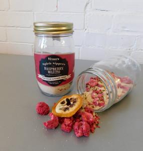 spirit sipper infusion jar - raspberry mojito