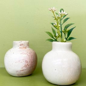natural stone vase small