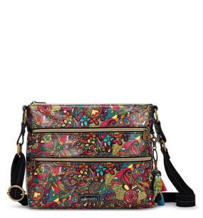 desert crossbody bag, rainbow spirit