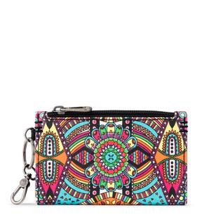 encino essential wallet, rainbow wanderlust