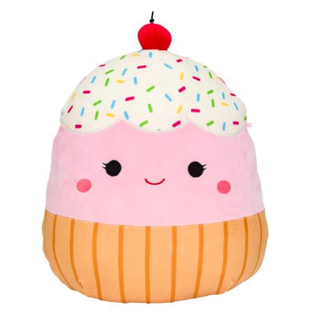 "foodie squishmallow 16"",  Clara cupcake"