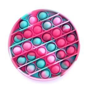 OMG pop fidgety round strawberry tie dye