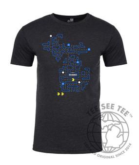 pac-mich t-shirt, Michigan