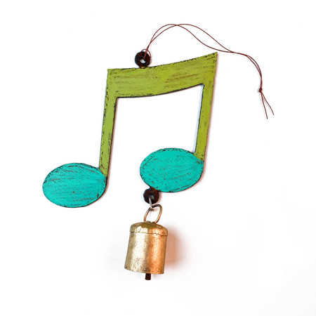 musical note mobile wind chime (assorted)