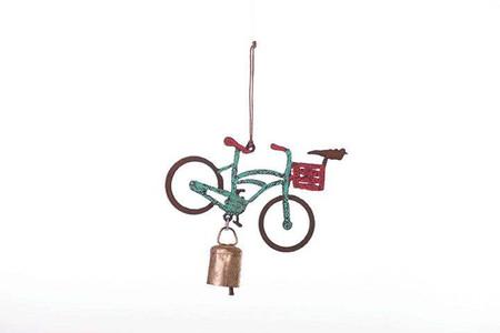 bike mobile wind chime (assorted)