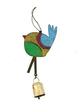 bird mobile wind chime (assorted)