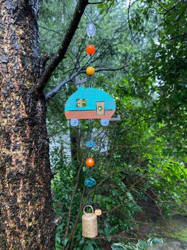 camper mobile wind chime (assorted)