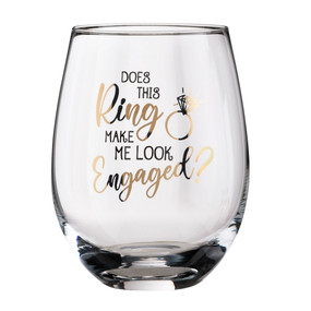 this ring engagement wine glass