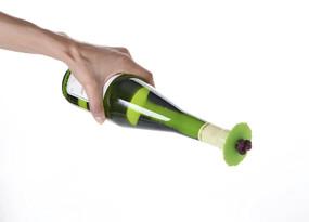 grape leaves bottle stopper